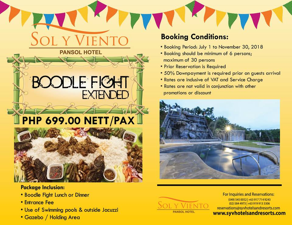 Sol Y Viento Mountain Hot Spring Resort - Boodle Fight Deal