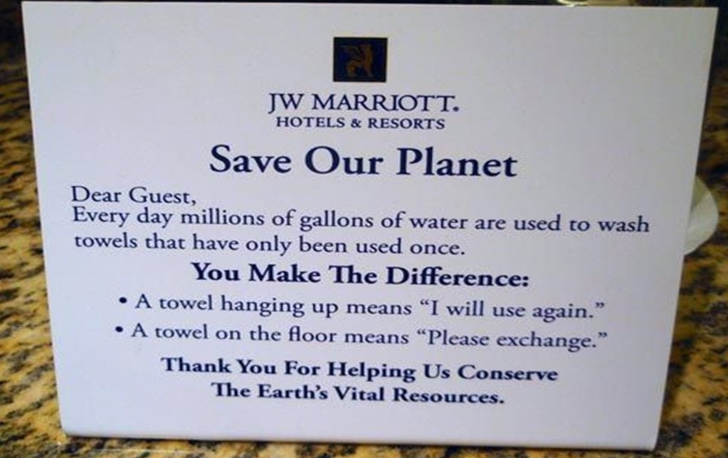 Ditching Plastic: Managing Guest Expectations