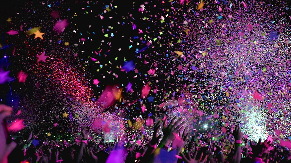 Balloons, Confetti and Fireworks; is it time to stop?